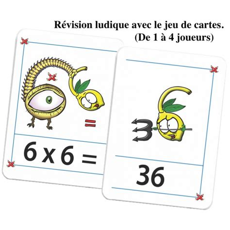 methode apprentissage table de multiplication le cahier d apprentissage le jeu de 56 cartes pour la r 233 vision ludique multimalin
