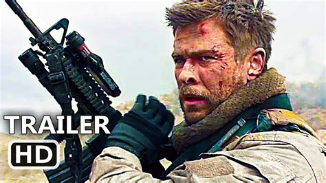 strong official trailer  chris hemsworth action