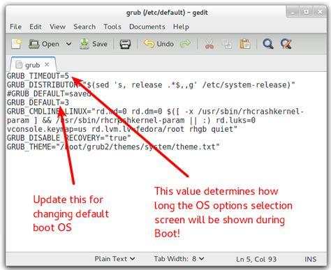Grub Change Boot Order - Usefulresults