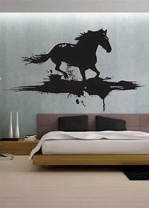 Modern horse uber decals wall decal vinyl decor art by for Horse wall decor