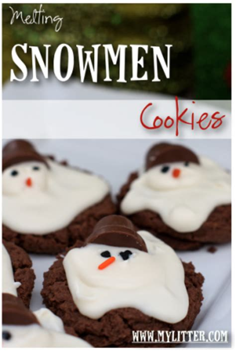 melted snowman cookies with reeses best images collections hd for gadget windows mac android