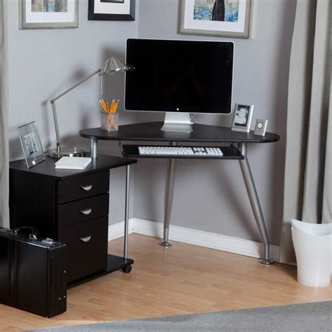 desk ideas for small spaces perfect workspace with chic small corner computer desk