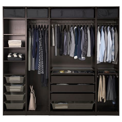 Pax Wardrobe by Pax Wardrobe Black Brown Wardrobe Ikea Pax Wardrobe