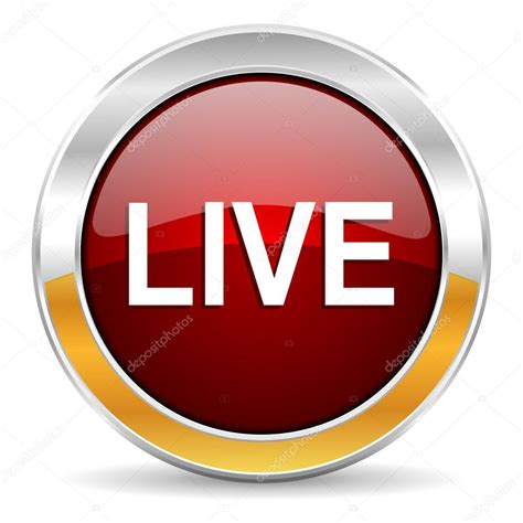 Live Icon — Stock Photo © Alexwhite #34423735