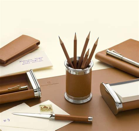 accessoires bureaux gvfc set d 39 accessoires de bureau cuir epsom grainé