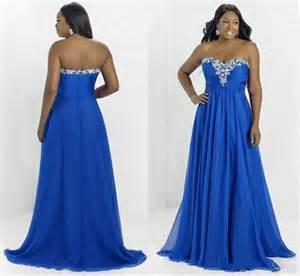 plus size royal blue bridesmaid dresses 2015 formal prom dresses plus size special occasion dresses royal blue chiffon a line