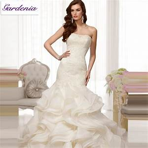 2014 design your own wedding dress ivory mermaid strapless With make your own wedding dress
