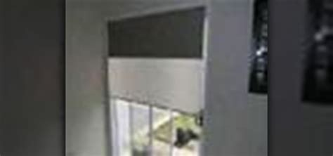 install  mount double roller blinds