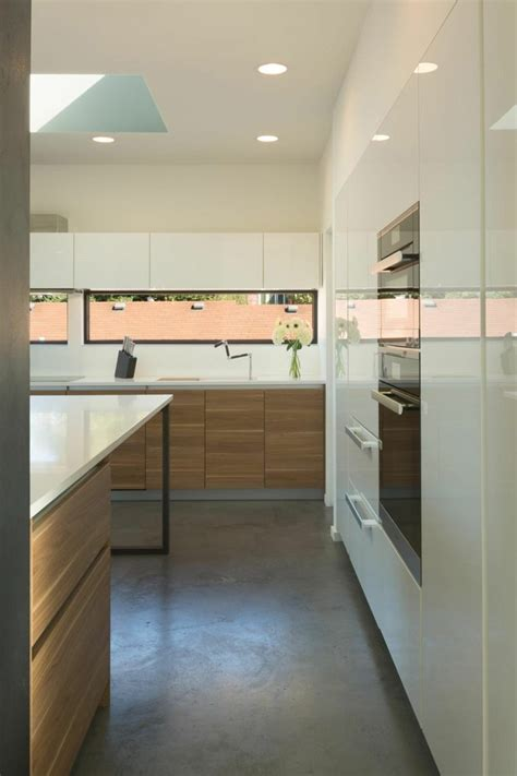 bandeau cuisine fenêtre bandeau pour déco de cuisine contemporaine