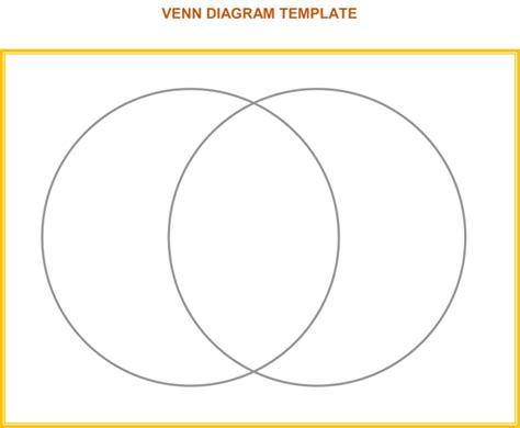 Ven Diagram For by Venn Diagram Template 6 Printable Venn Diagrams