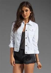 White Denim Jackets u2013 Jackets