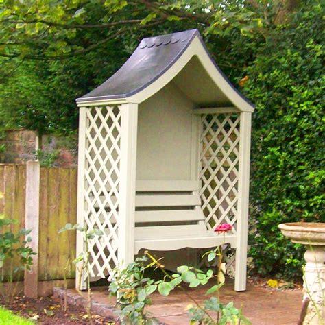 banc en bois de jardin abri jardin bois avec banc