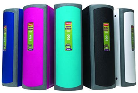 3 inch binder spine staples 3 inch betterview binder with d rings teal import it all
