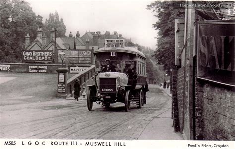 muswell hill postcards