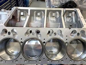 Hemi Engine Block Machining
