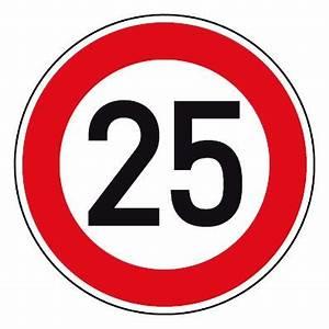 6 Km H Schild : geschwindigkeitsszeichen tempo limit 25 km h schild ~ Jslefanu.com Haus und Dekorationen