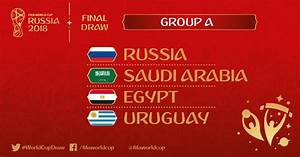 FIFA World Cup 2018 Group A Teams, Matches, Predictions ...