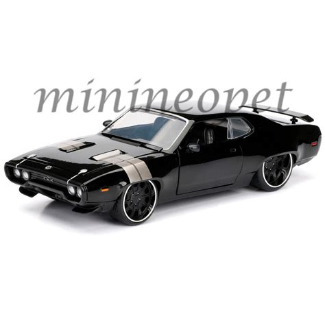 Dom Fast And Furious Car by 98292 Fast And Furious 8 Dom S Plymouth Gtx 1 24