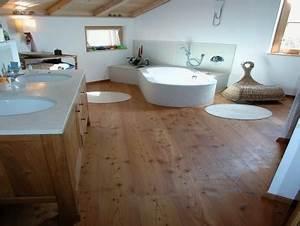 Bad Mit Holzboden : holzboden im bad neubau hausideen so wollen wir bauen ~ Michelbontemps.com Haus und Dekorationen
