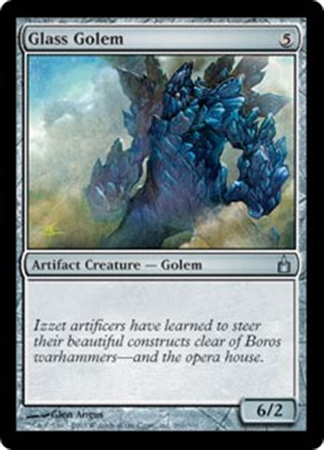 Magic The Gathering Golem Deck by Wallpaper Of The Week Glass Golem Daily Mtg Magic