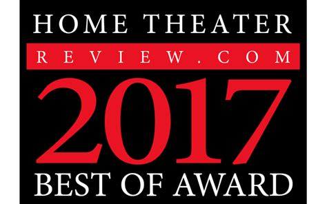 Home Theater Review's Best Of 2017 Awards