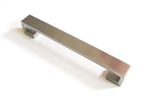 kitchen cabinet drawer handles modern 6 quot satin nickel kitchen cabinet door drawer handle