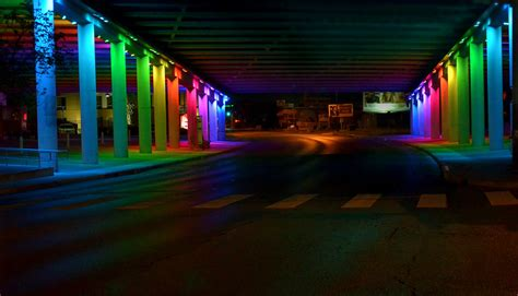 Light Show Houston by Light Show At Houston St San Antonio By