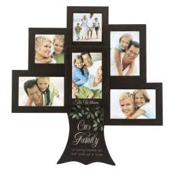 engraved wedding albums personalized family tree 6 picture frame collage