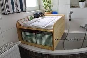 Wickelaufsatz Waschmaschine Selber Bauen : wickelkommode f r die eckbadewanne selbstgebaut ~ Heinz-duthel.com Haus und Dekorationen