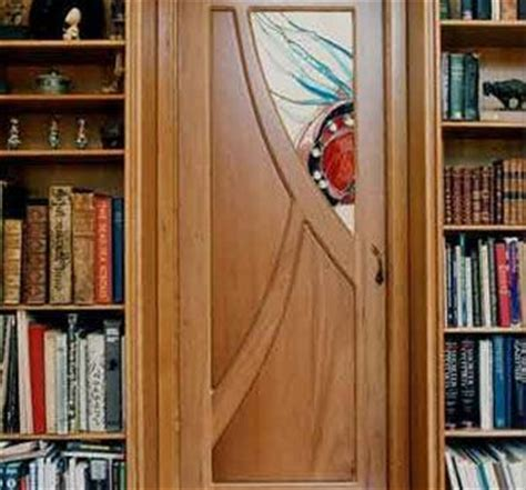 custom  cherry  stained glass pocket doors