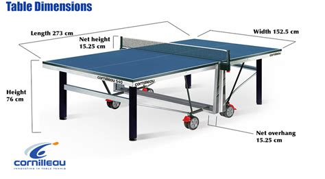 what are the dimensions of a table tennis table table tennis table measurements size and dimensions