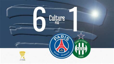 Match : PSG/Saint-Etienne (6-1), nouvelle balade pour ...