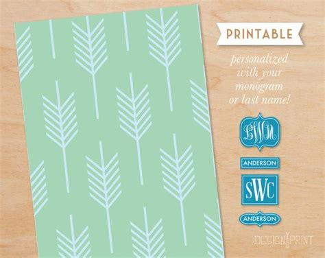 diy printable modern arrow pattern  idesignyouprint