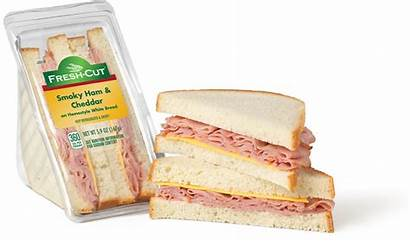 Ham Wedge Cheddar Smoky Bread Cheese Sandwiches