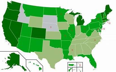 Cannabis Marijuana Cbd Map Legalization Svg Legal