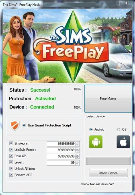 sims  hack tool working