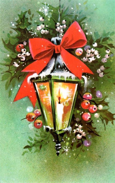 vintage christmas lamp post christmas vintage