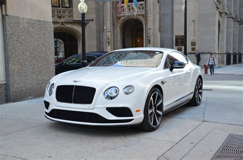 bentley 2017 white 2017 bentley continental gt v8 s stock b838 for sale