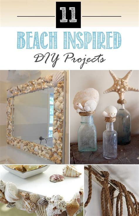 beach inspired diy projects   home beach room