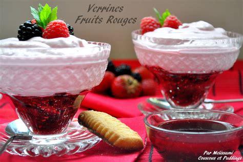 dessert couscous et puddings