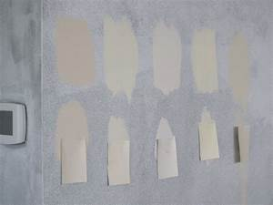 The painting begins for Can eggshell paint be used in a bathroom