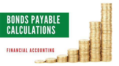 Bonds Payable Calculations: Bond Price or Present Value ...