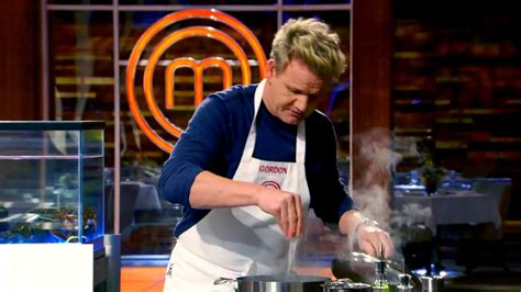 cuisine masterchef gordon ramsay cooking deconstructing a lobster to