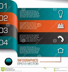 Infographics Design Template Stock Vector