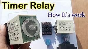 8 Pin Timer Relay Wiring Diagram In Urdu  Hindi