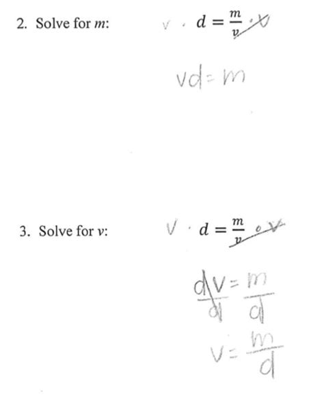 Free Math Worksheets Literal Equations  Solving Literal Equations With Videos Worksheets