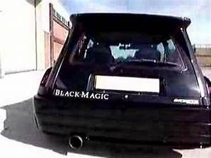Renault 5 Turbo 2 A Restaurer : renault 5 gt turbo black magic youtube ~ Gottalentnigeria.com Avis de Voitures