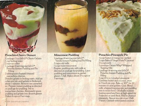 recipecurio comjello beautiful desserts page 1 vintage recipe booklet recipecurio