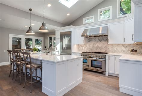pictures of cabinets white shaker kitchen remodel in greenwood jm