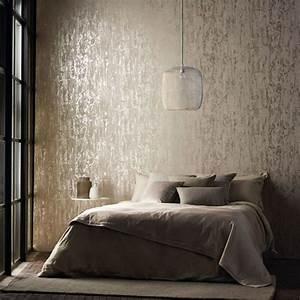 25 tapeten ideen wie man die wande zu hause gestaltet With balkon teppich mit stein tapete wohnzimmer grau